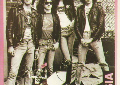 Ramones Rocket to Russia rosa