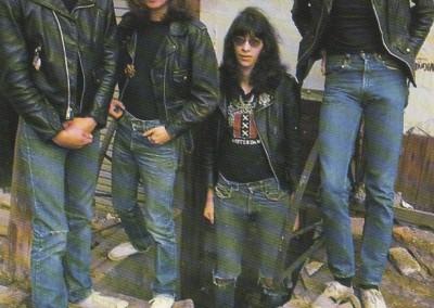 Ramones in strada