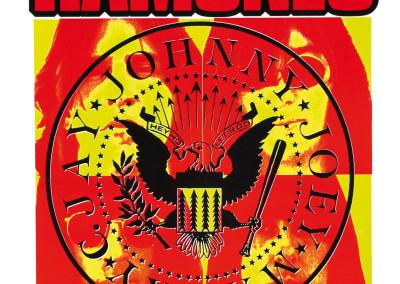 1994 Ramones 20° arancio e giallo