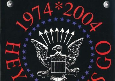 30° anniversario '74 – '04