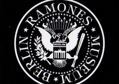 Welcome Ramones Museum Berlin