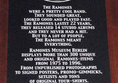 Ramones Museum Berlino