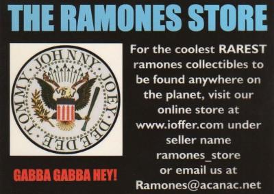 The Ramones store