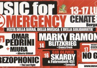Marky Ramones Blitzkrieg Bergamo