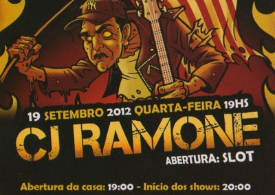 Cj Ramone Reconquista South America tour 2012