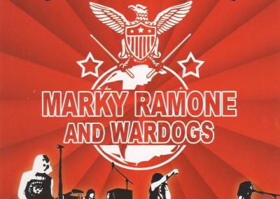 Marky Ramone Wardogs Ramones Sniffing Poster Expo