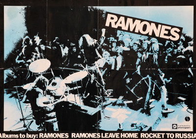 1977 Ramones primi 3 album