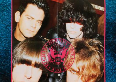 1986 Ramones tourprogram