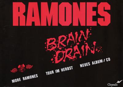 1989 Ramones Brain Chrysalis