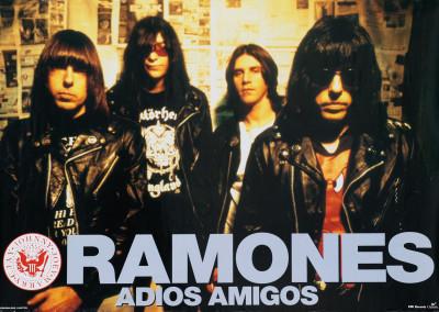 1995 Ramones Adios amigos
