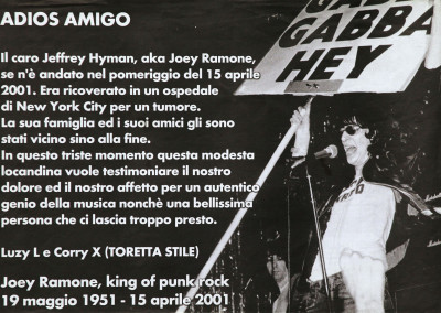 2001 Joey Ramone Toretta