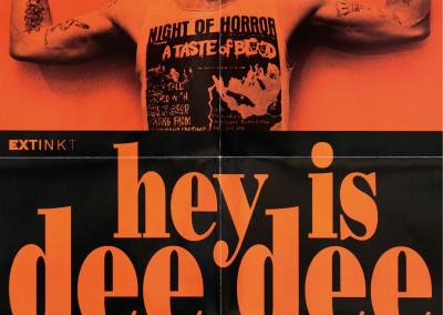 2003 Dee Dee Ramone Dvd