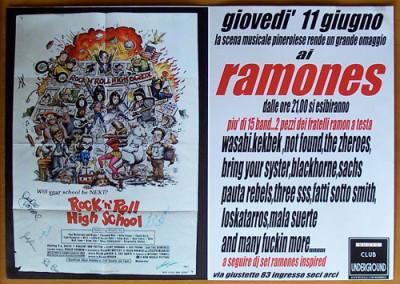 2009 Ramones Tribute nigh