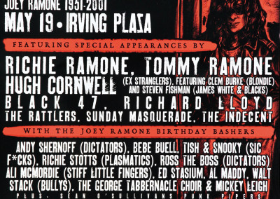 2011 Joey Ramone Birthday bash