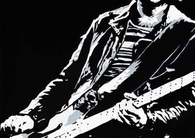 2013 Dee Dee Ramone nero