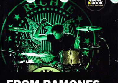 29/11/2014 Richie Ramone Scandiano