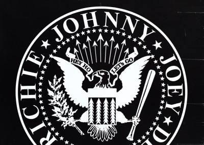 Ramones Logo Richie