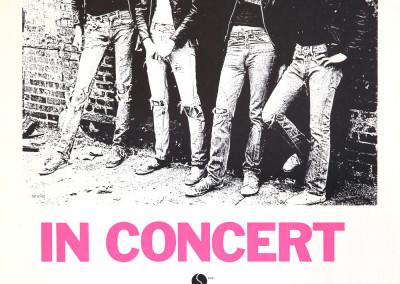 1977 Ramones in concert