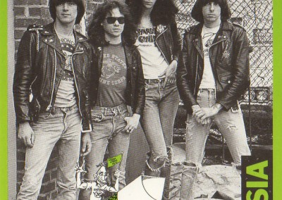 Ramones Rocket to Russia verde
