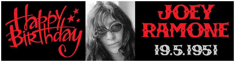 Oggi Joey Ramone compie 66 anni!