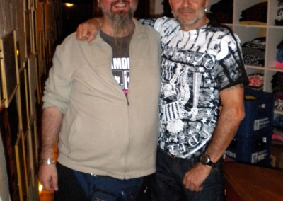Marco Zuanelli e Arturo Vega