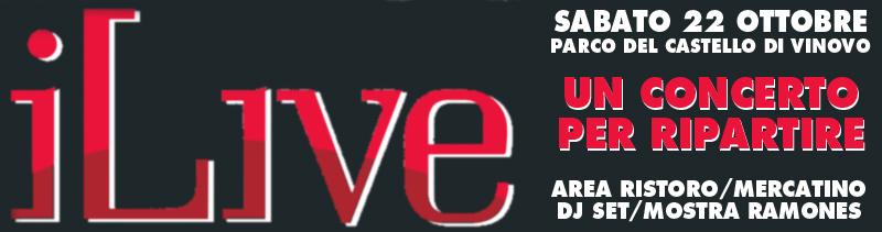 """A Vinovo: """"iLive"""" un concerto per ripartire!"""