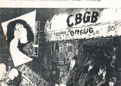 The Ramones C.B.G.B