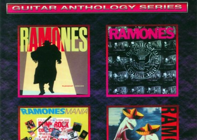Ramones – Guitar anthology series