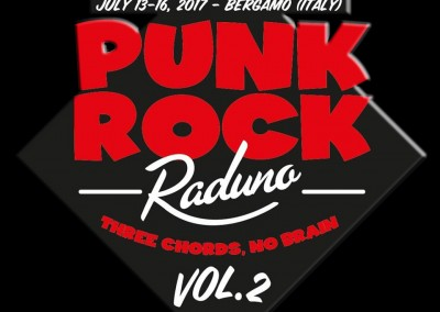 Logo punk rock raduno vol.2