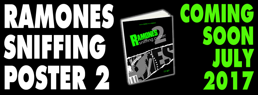 """Da luglio sarà disponibile """"Ramones Sniffing Poster 2""""!"""