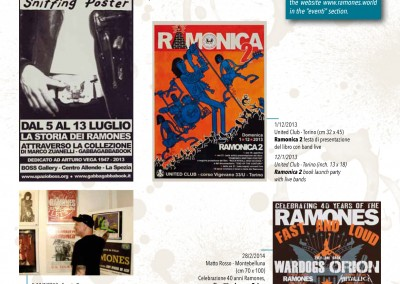 "Interno ""Ramones Sniffing Poster 2"""