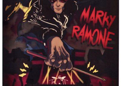 28-29/7/2017 Marky Ramone autografato telato