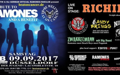 Ramones.world al Beat On Cancer-Ramones a Düsseldorf