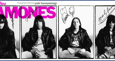 "Yuki Kuroyanagi: ""Thank you Ramones"""