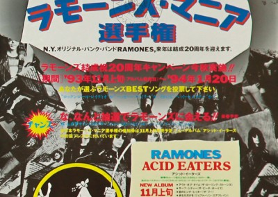 1993 Ramones Acid Eaters – Toshiba/Emi