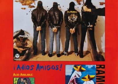 1995 Ramones Adios – MCA/RadioActive