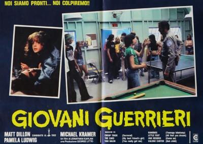 1983 Giovani Guerrieri – Fotobusta 1