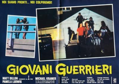 1983 Giovani Guerrieri – Fotobusta 5