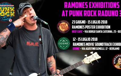"12 luglio: ""Ramones movie soundtrack exhibition"""