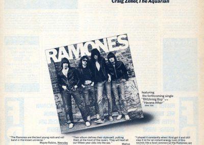 1976 Bilboard – Usa – Ramones Sire ABC