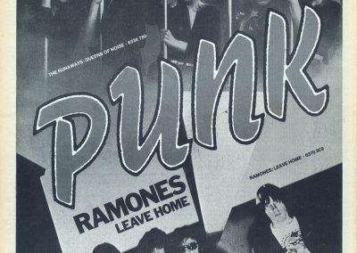 1977 Oor – Ola – Ramones Leave Home Runaways