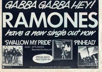 1977 New Musical Express – Uk – Ramones + 7″ Pinhead + Leave Home