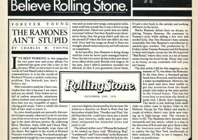 1978 Bilboard – Usa – Road to Ruin + articolo