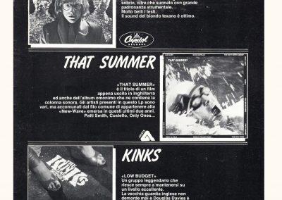 1979 Il Mucchio Selvaggio – Ita – That Summer