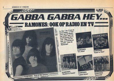 1980 Muziekkrant oor – Ola – Vari Album Wea