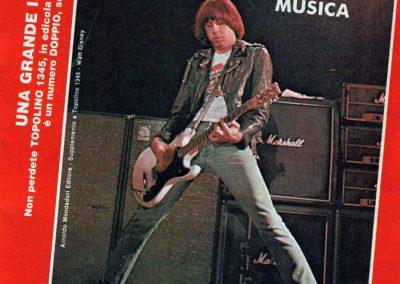 1981 Topolino – Ita – Topolino Più Musica