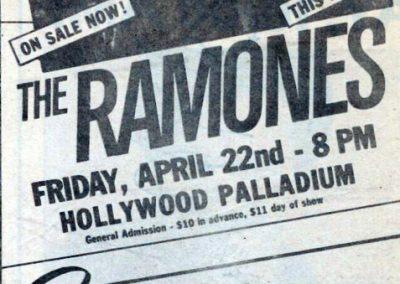 1983 ???? – Usa – Ramones Vari Live Usa