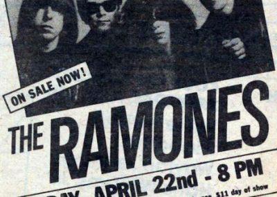 1983 ???? – Usa – Ramones Live Usa