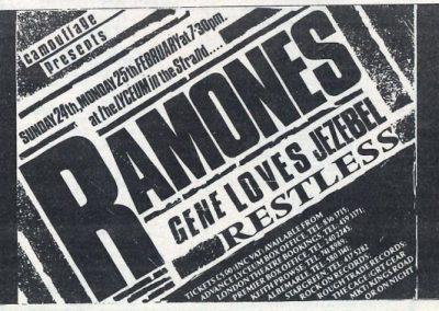 1985 ???? – Uk – Ramones Live A