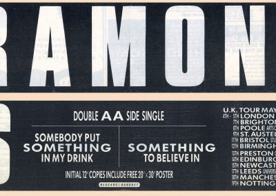 1986 ???? – Uk – Something to believe in 12″ + Tour Uk
